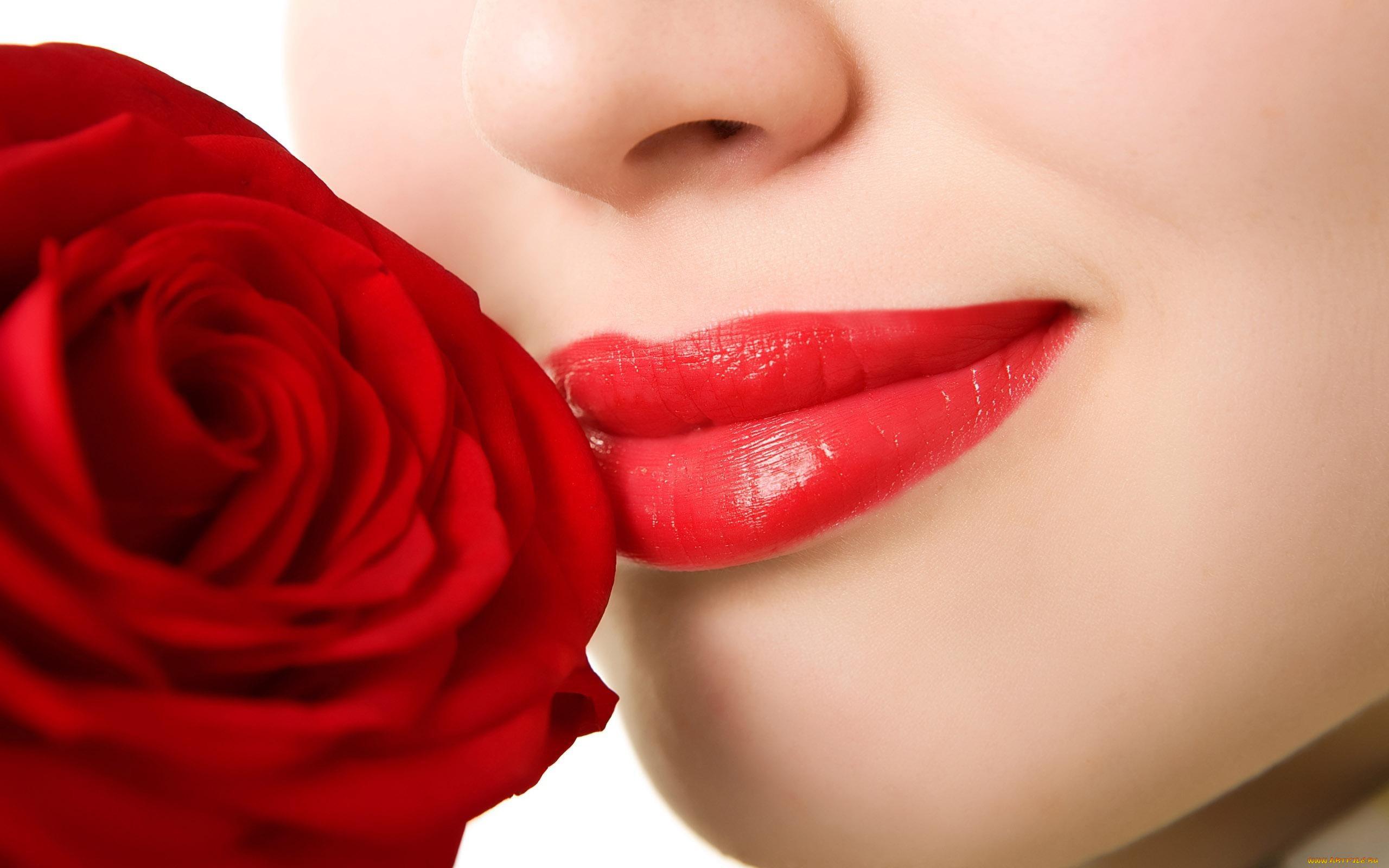 Фото цветов и поцелуев
